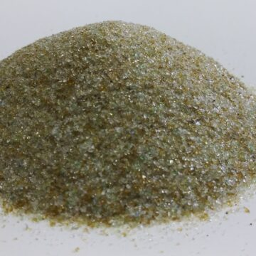 Crushed Glass Blasting Media