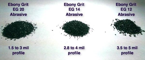 Ebony Grit Copper Slag